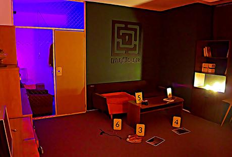 Escape Room v bratislave: Izba číslo 13 - Miesto činu